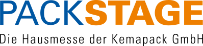 Packstage – die Hausmesse der Kemapack GmbH Logo